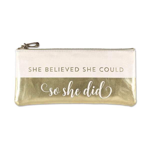 Estuche SHE BELIEVED SHE COULD SO SHE DID