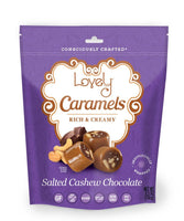 Salted Cashew Chocolate Caramel