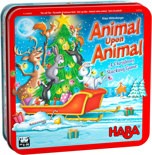 Animal Upon Animal: A Christmas Stacking Game