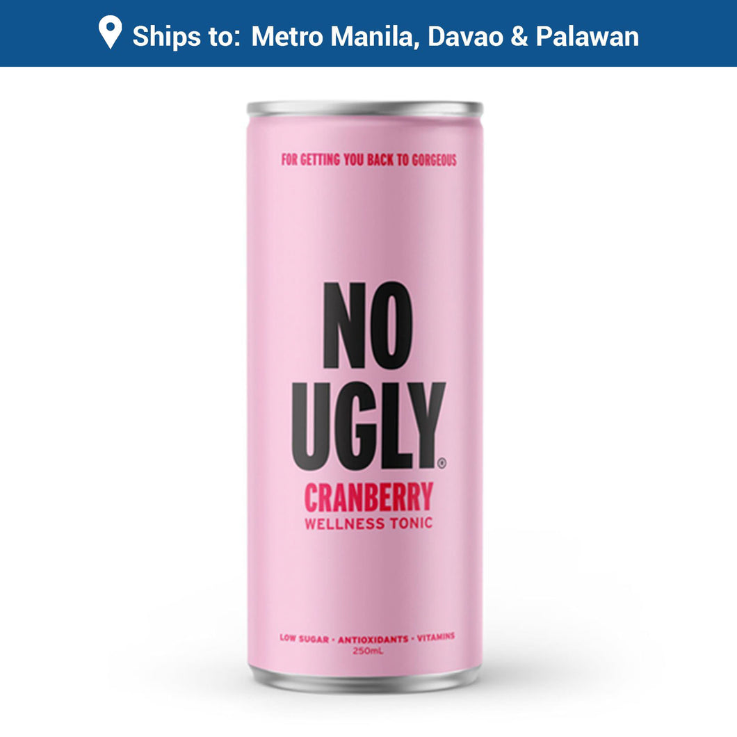 No Ugly Cranberry Wellness Tonic (can 250ml)