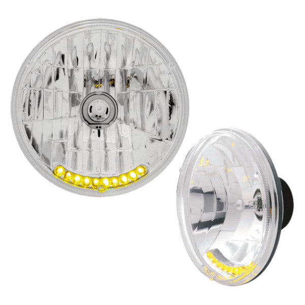 "10 LED 7"" Crystal Headlight Bulb"