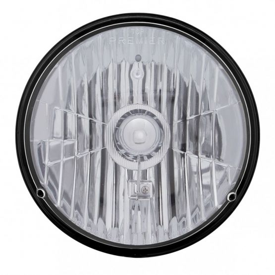 "7"" Round Crystal Halogen Headlight"