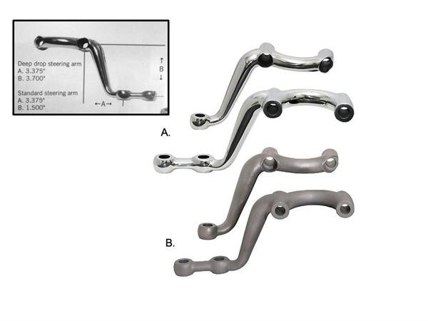 Deep Drop Steering Arms