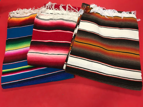 Light Mexican Blanket