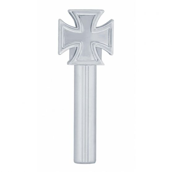 Chrome Iron Cross Door Lock Knobs