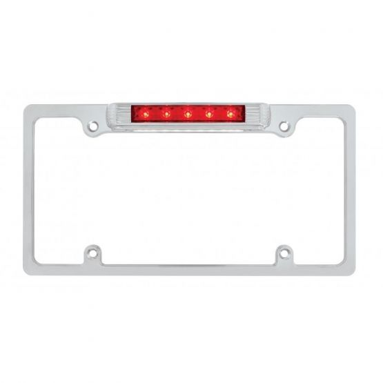 License Plate Frame with Brake & License LED's
