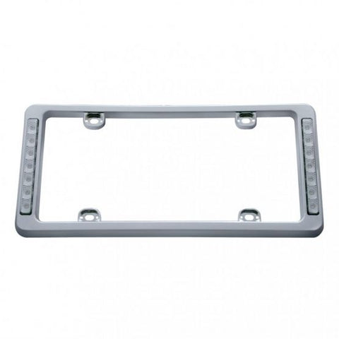 License Plate Frame with White LED's