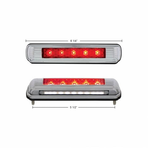 License Plate Light with Red LED Brake Light