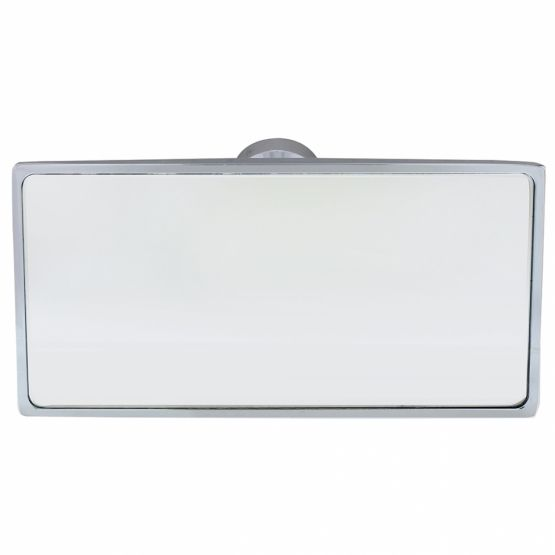 Rear View Rectangular Glue-on Mirror