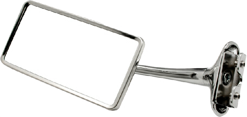 Rectangular Universal Door Edge Mirror for 1941-48 Chevy Car