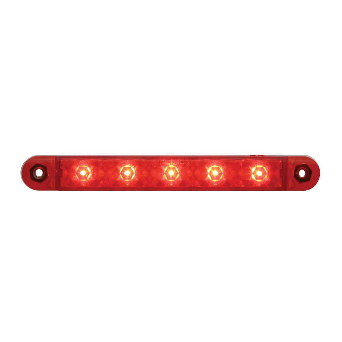 Red 5 LED Strip 5""