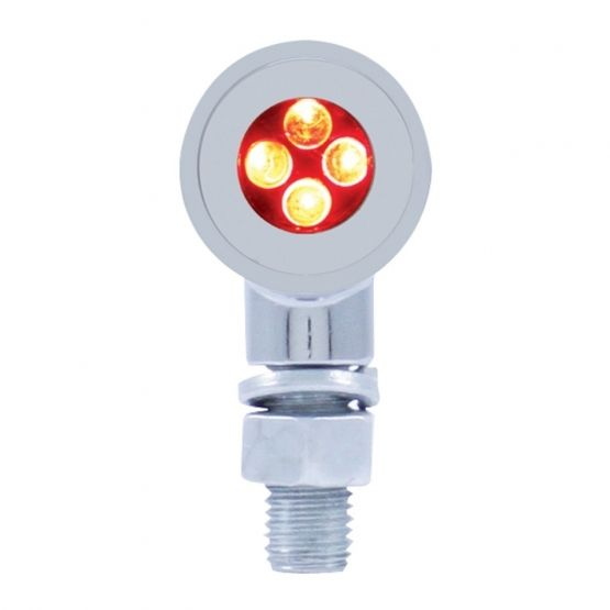 4 LED Red Mini Bullet Marker Light