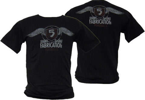 Shine #5 Fabrication Wings T-Shirt