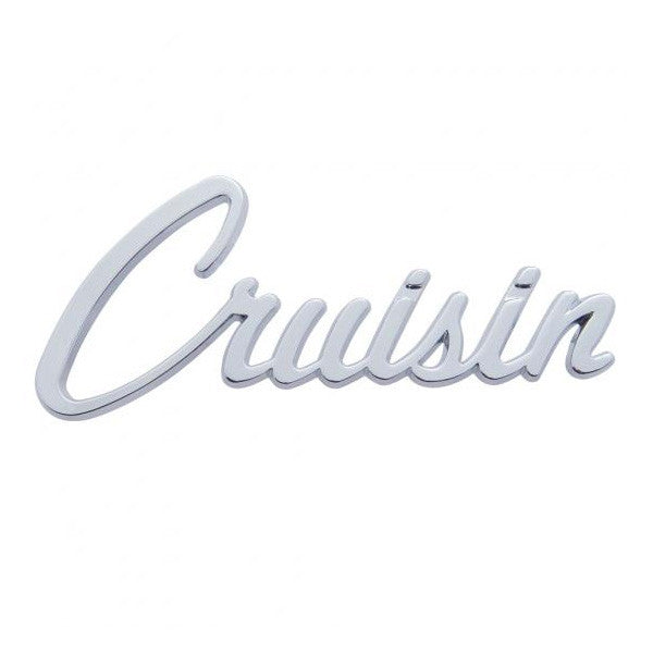 Chrome Cruisin Emblem