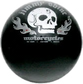 Shine Skull-Flame Shift Knob