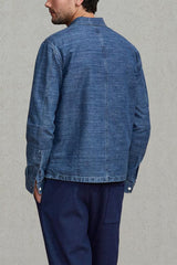 Levi's Made and Crafted Overshirt  - Chambray Blue Kasari