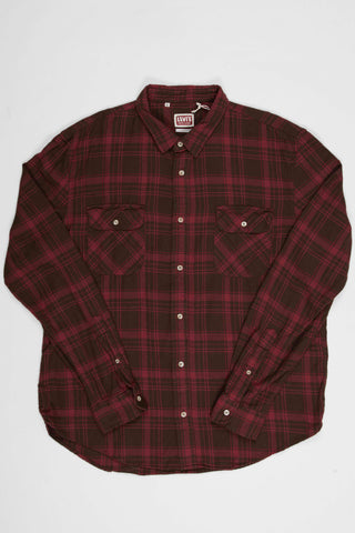 Levi's Vintage Clothing Shorthorn Shirt - Demitasse Brown