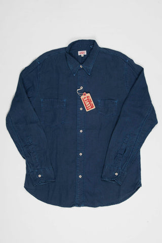 Levi's Vintage Clothing 1920s Two Pocket Sunset Shirt - Indigo