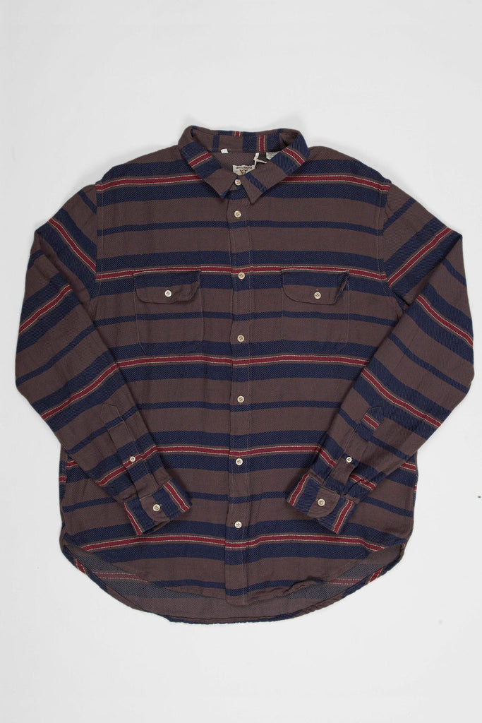 Levi's Vintage Clothing 1950s Shorthorn Blanket Stripe Shirt
