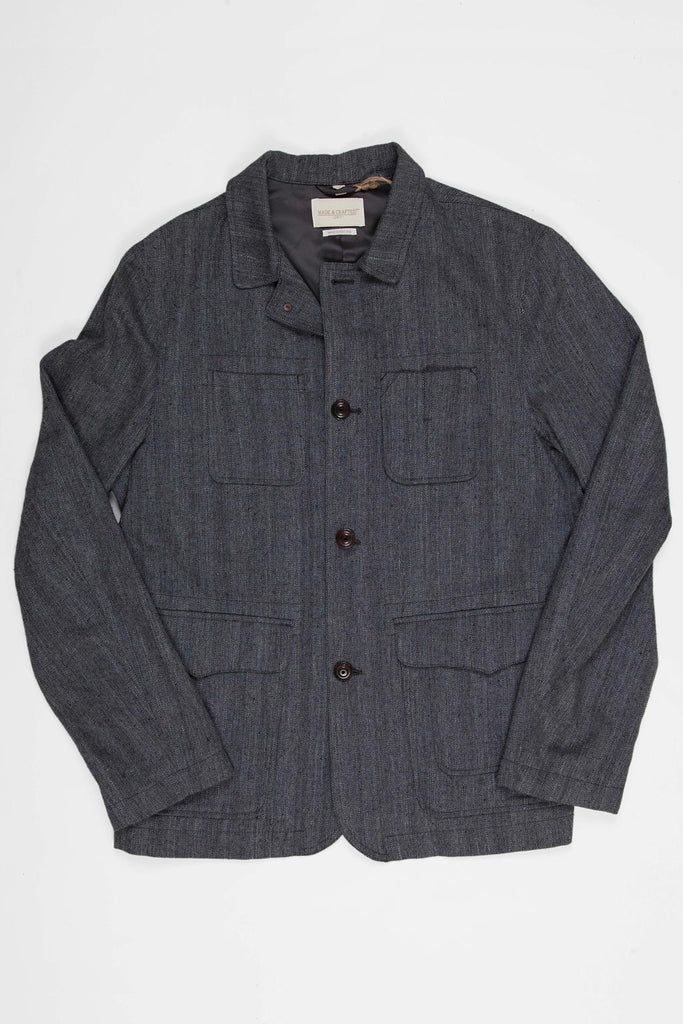 Levi's Made and Crafted Whistle Coat Jacket - Herringbone