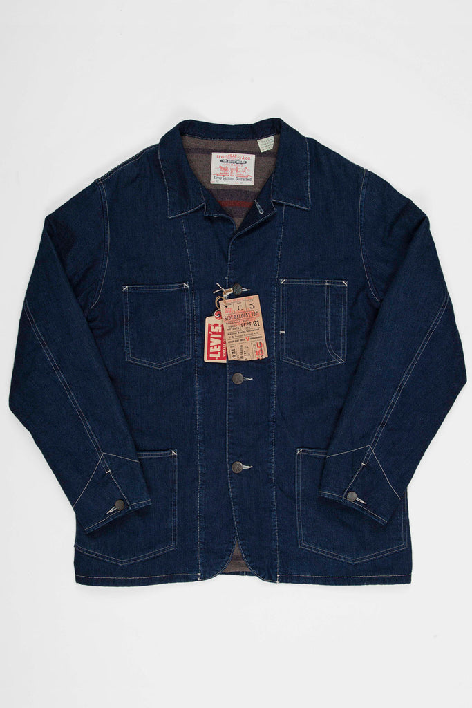 Levi's Vintage Clothing Sack Coat Blanket - Lined Rinse