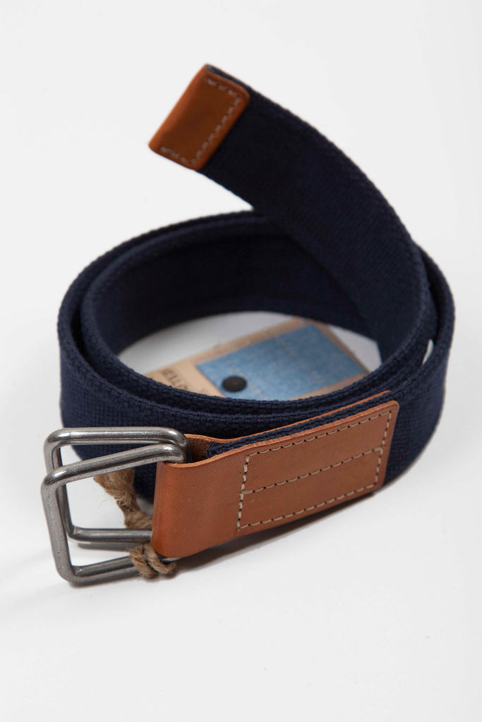 Levi's Made and Crafted Canvas Belt - Dark Navy