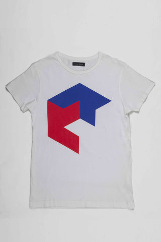 Sixpack Tee FRANCE IS COLOR by Jean Widmer