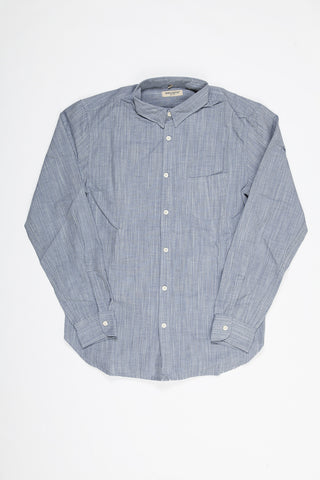 Levi's Made and Crafted One Pocket Shirt - True Blue Mele