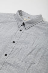 Levi's Made and Crafted One Pocket Shirt - Grey Mele