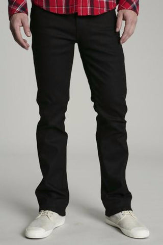 Nudie Jeans Slim Jim - Dry Black Coated