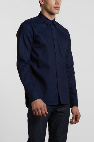 Levi's Made and Crafted One Pocket Shirt - Denim Rinse