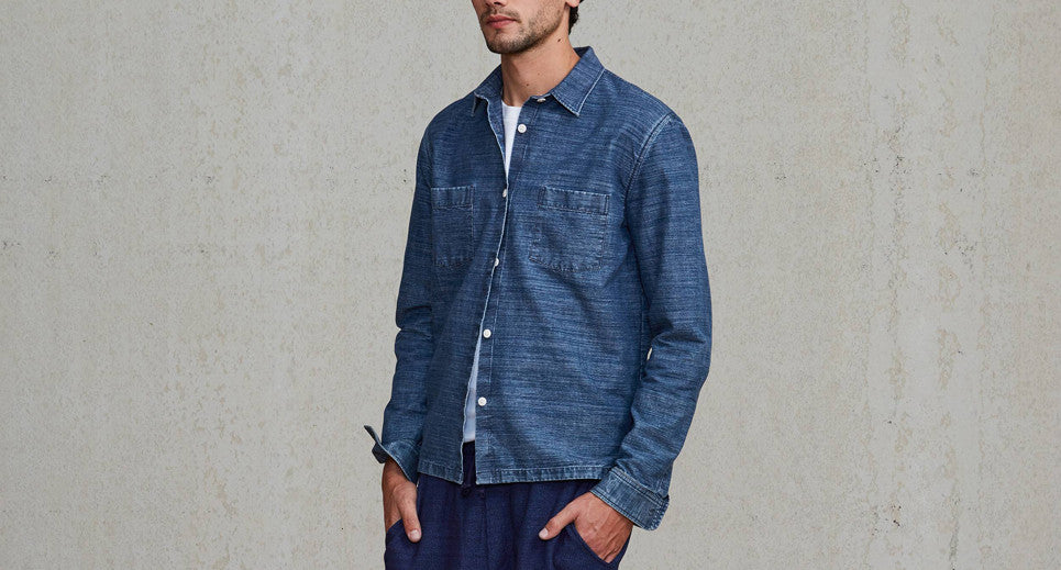 Levi's Made and Crafted Overshirt Chambray