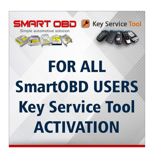 Activation Key Service Tool Renew Smart Key
