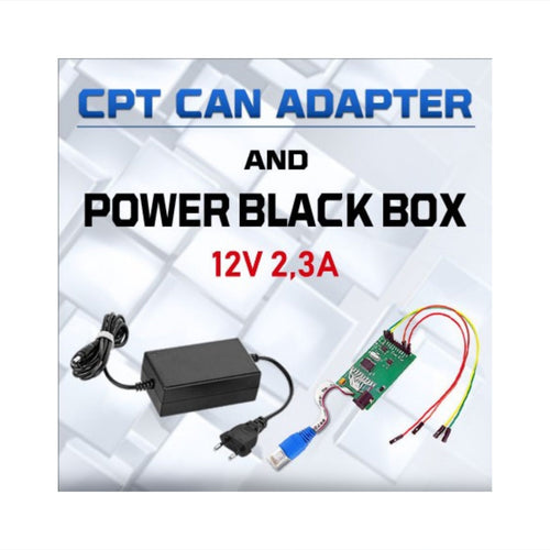 CPT CAN Adapter - Power Black Box