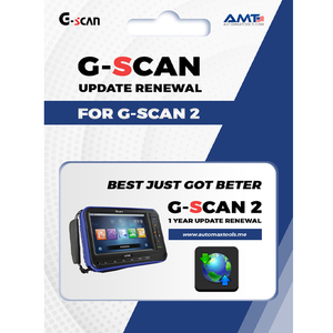 G-scan 2 - 1 Year Update Renewal