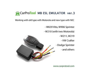 Mercedes Benz VW Dodge Steering Lock ESL Emulator