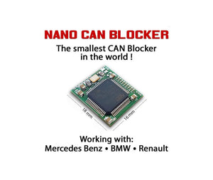Nano CAN blocker Mercedes-Benz BMW Renault