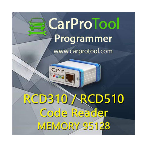 RCD 310 RCD 510 Code Reader Activation