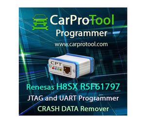 Renesas H8SX R5F61797 JTAG Uart CAN Programmer
