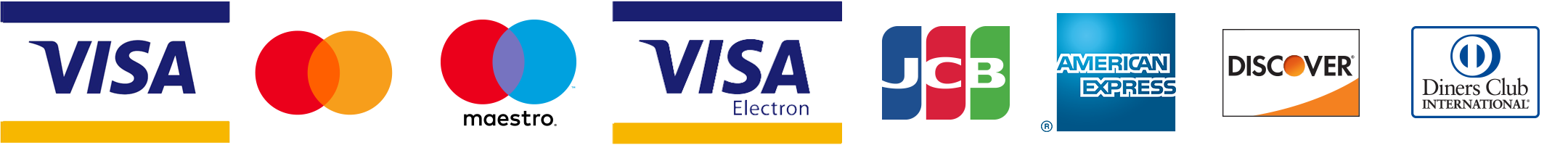 Pay with credit/debit cards
