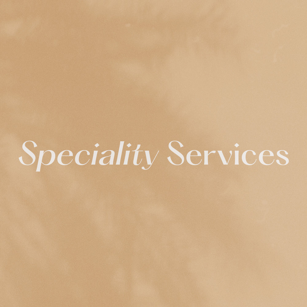 Speciality Services