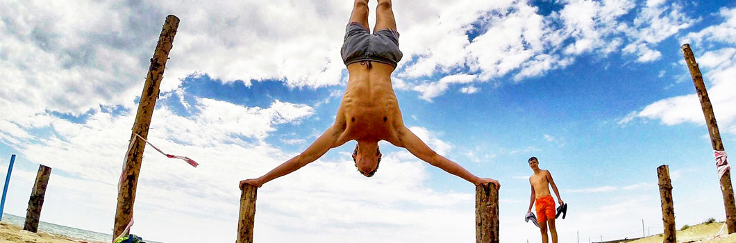 4 gymnastic moves to build up your strength