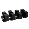 Gravity Fitness Parallette Replacement Rubber Feet - Set of 8
