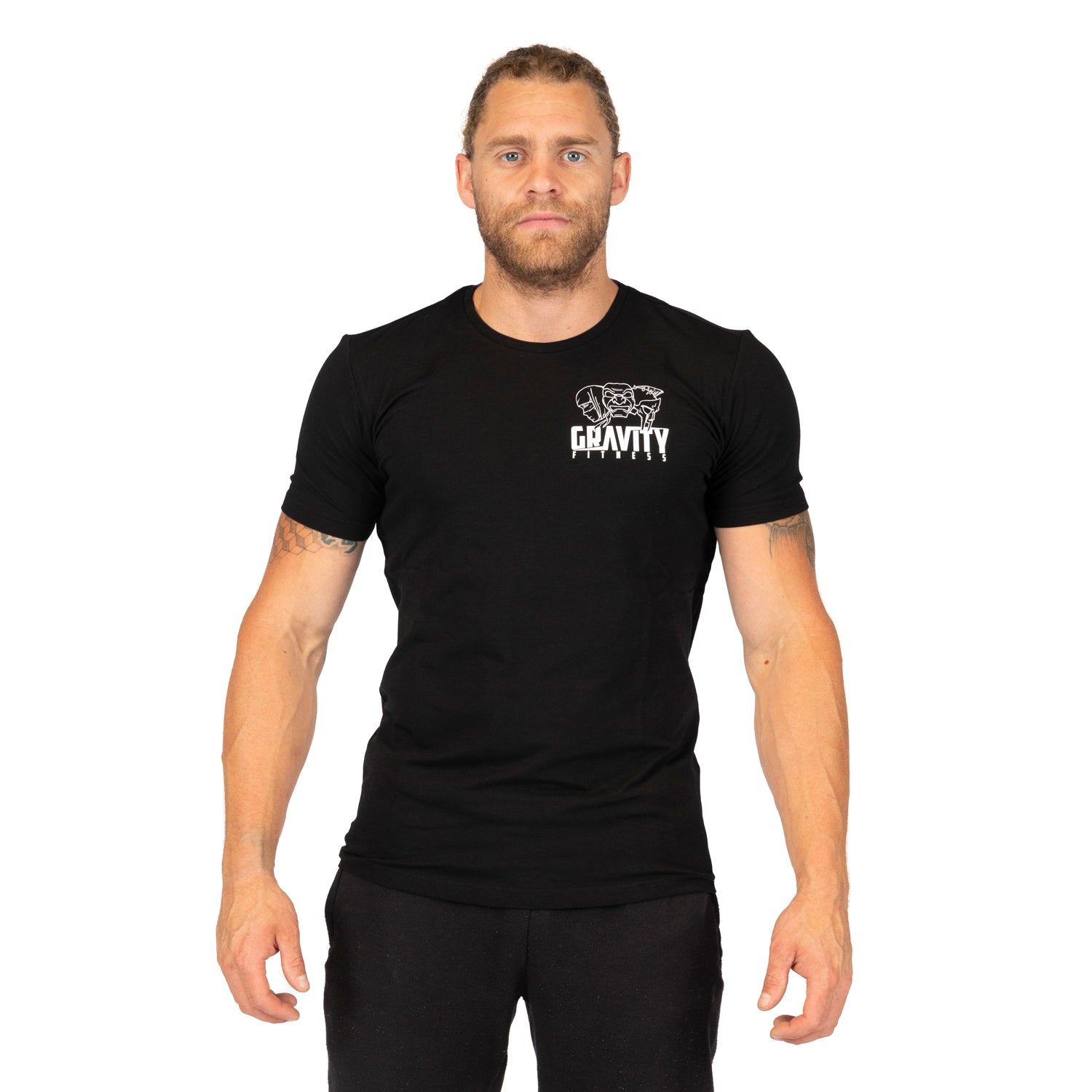 Gravity Fitness Bamboo Training T Shirt - Black
