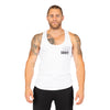 Gravity Fitness Bamboo Training Vest - White