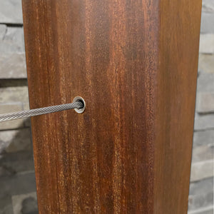 Stainless Wood Protector Sleeve - Keuka Cable