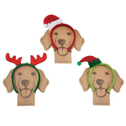 Dog Holiday Costume Headbands - Bella Bea Boutique