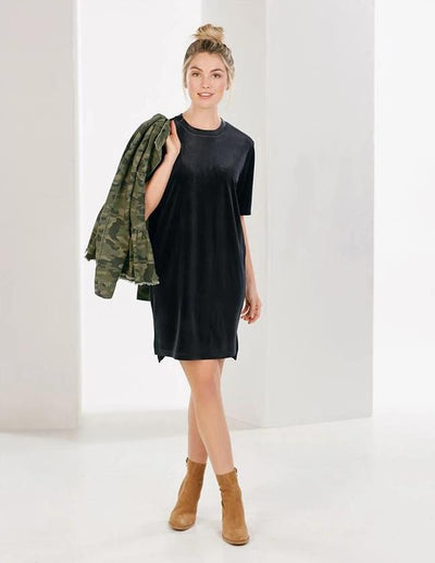 Bennett Velvet Dress - Bella Bea Boutique
