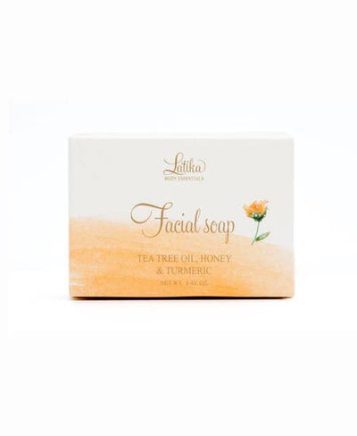 Tea Tree, Honey & Tumeric Facial Soap - Bella Bea Boutique