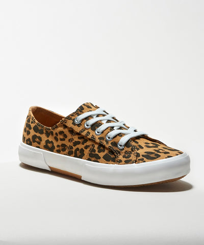 animal leopard print sneakers